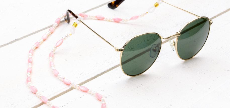 DIY : Réaliser un cordon à lunettes de soleil