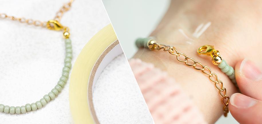 Mettre facilement votre bracelet toute seule