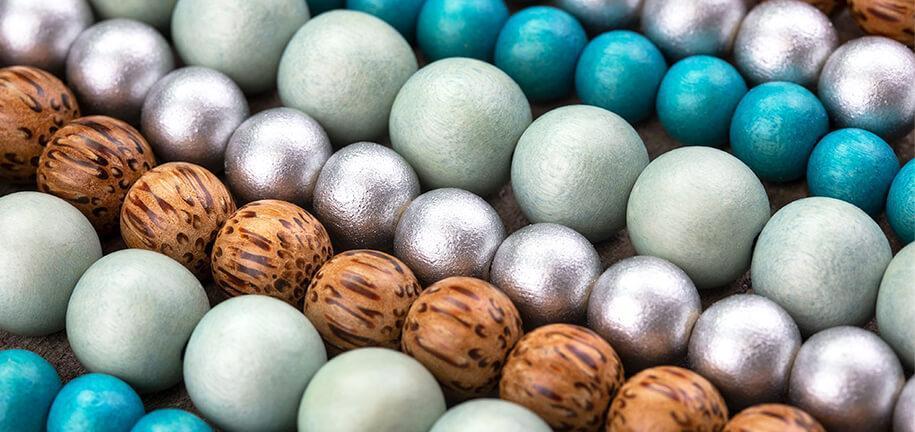 Nous ❤ les perles en bois