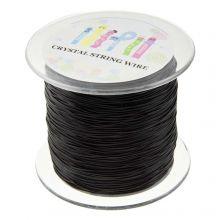 Fil Élastique Haute Qualité (0.6 mm) Black (160 mètres)