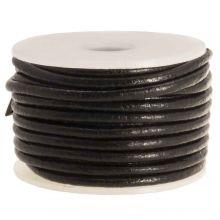 Cuir régulier DQ (2 mm) Black (5 mètres)