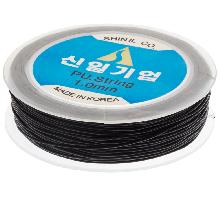 Fil Élastique Haute Qualité (1 mm) Black (25 mètres)