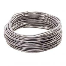 Fil en Aluminium (2 mm) Antracite (10 mètres)