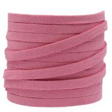 Fil imitation Daim (5 mm) Party Pink (5 mètres)