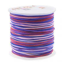 Fil Nylon (1 mm) Mix Color - Berries (100 mètres)