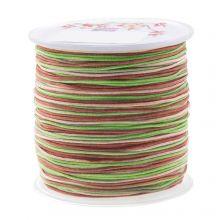 Fil Nylon (1 mm) Mix Color - Mossy Brown (100 mètres)