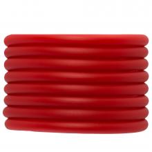 Fil Caoutchouc (5 mm) Bright Red (2 mètres)