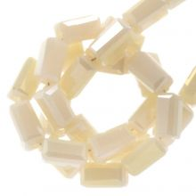 Perles en Verre (4 x 2 mm) Galvanized Nude (100 pièces)