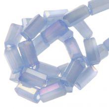 Perles en Verre (4 x 2 mm) Galvanized Cornflower (100 pièces)