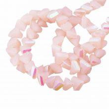 Perles en Verre (3 x 2 mm) Galvanized Peach Puff AB (148 pièces)