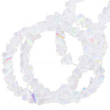 Perles en Verre (3 x 2 mm) Galvanized Crystal AB (148 pièces)