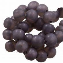 Perles En Résine Mat (8 - 9 mm) Grape (20 pièces)