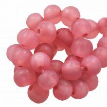 Perles En Résine Mat (8 - 9 mm) Punch (20 pièces)