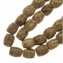 Perles en Céramique (11 x 10 mm) Tan (18 pièces)