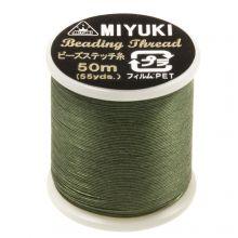 Fil Miyuki (50 mètres) Pine Green
