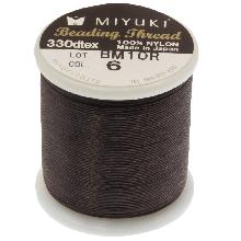 Fil Miyuki (50 mètres) Brown
