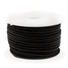 Cuir Vintage DQ (1 mm) Black (10 mètres)