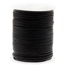 Cuir régulier DQ (1 mm) Noir (50 mètres)