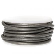 Cuir Métallique DQ (3 mm) Grey (5 Mètres)