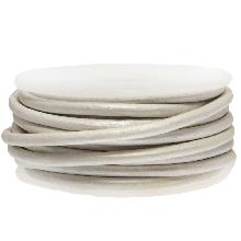 Cuir Métallique DQ (3 mm) White (5 Mètres)