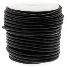 Cuir DQ Regular Roule d'Avantage (4 mm) Black (20 mètres)