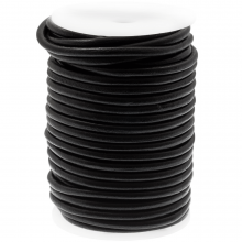 Cuir DQ Regular Roule d'Avantage (5 mm) Black (20 mètres)