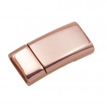 Fermoir Magnétique (Diamètre de l'intérieur 10 x 3 mm) Or Rose (1 pièce)
