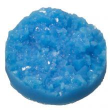 Cabochon Druzy (14 mm) Blue (5 pièces)