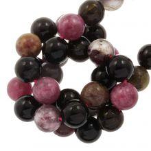 Perles Tourmaline (8 mm) 47 pièces