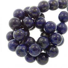 Perles Lapis Lazouli (12 mm) 16 pièces