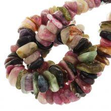Perles Tourmaline (11 - 17 x 9 - 11 x 2 - 4 mm) 145 pièces