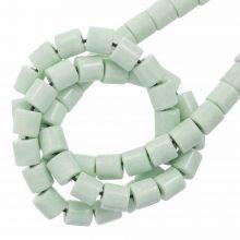 Perles Agate Colorées (4.5 x 4.5 mm) Mint Green (90 pièces)