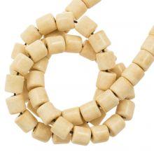 Perles Agate Colorées (4.5 x 4.5 mm) Navajo (90 pièces)