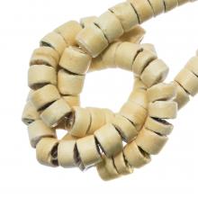 Perles Noix De Coco (4-5 mm) Sand (120 pièces)