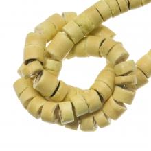 Perles Noix de Coco (4 - 5 mm) Cocos Cream (120 pièces)