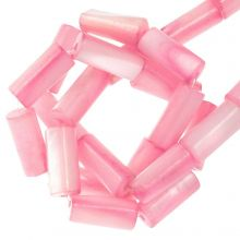 Perles Coquillage (10 x 4 mm) Pink (36 pièces)