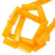 Perles Coquillage (10 x 4 mm) Orange (36 pièces)