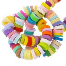 Perles en Polymère (4 x 1 mm) Mix Color Bright (300 pièces)