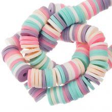 Perles en Polymère (6 x 1 mm) Mix Color Fancy (300 pièces)