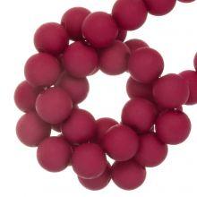 Perles Acryliques Mat (4 mm) Dark Hot Pink (1900 pièces)