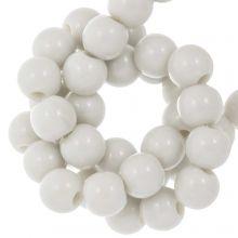 Perles Acryliques (6 mm) Greige (100 pièces)