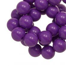 Perles Acryliques (12 mm) Clear Purple (54 pièces)