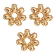 Perles En Métal (6mm) Or (40 pièces)