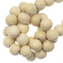 white wood naturel perles