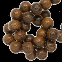 perles en bois coulour jolie 12 mm