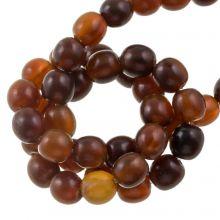 Perles en Os (8 mm) Golden (55 pièces)