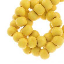 perles en bios autour de intense look 6 mm yellow