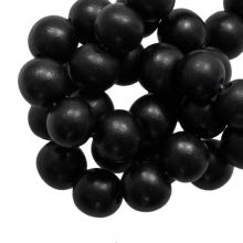 Perles En Bois Look Intense (20 mm) Pitch Black (20 pièces)