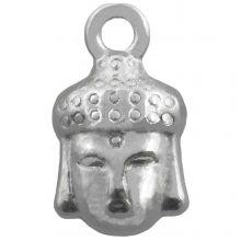 Breloque Buddha (14 x 8 mm) Argent Antique (25 pièces)