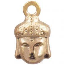Breloque Buddha (14 x 8 mm) Or (25 pièces)